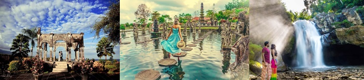 Cung điện nước-Tour Bali 4 ngày 3 đêm